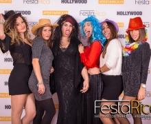 festa 18 anni roma set red carpet foto divertenti