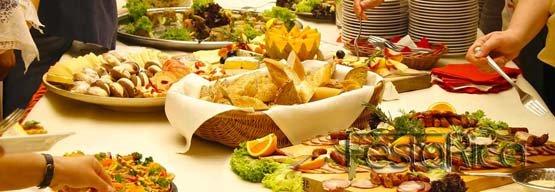 Menù buffet