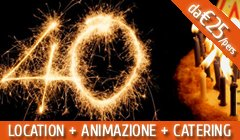 festa 40 anni roma